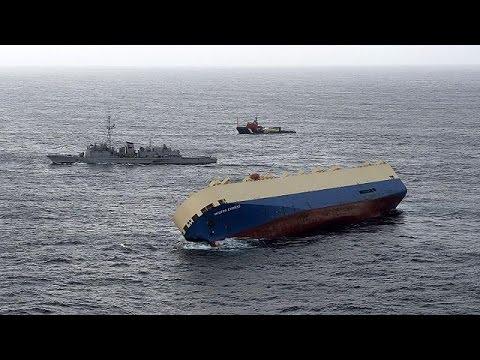 بار کج در کشتی مدرن اکسپرس راست نشد