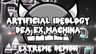 Artificial ideology/Dea Ex Machina - FULL LEVEL! - Gameplay by riot [EXTREME DEMON]