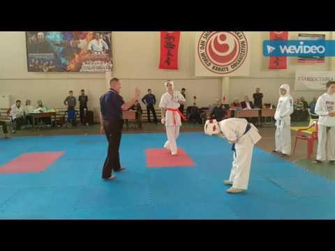 Чемпионат Японии по каратэ кекусинкан.