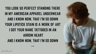 download musica Ed Sheeran - She Looks So Perfect