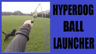 Hyper Pet HyperDog Ball Thrower Review with Gopro+ Lcd