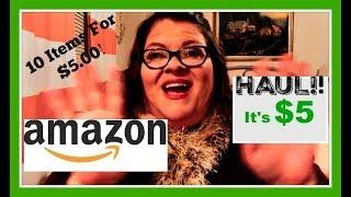 AMAZON It's $5 Haul!