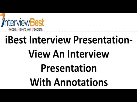 A Winning Interview Presentation - Learn how to make your own expert interview presentation
