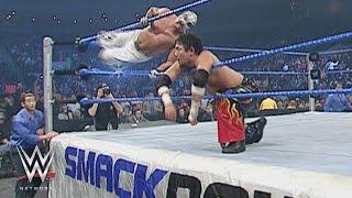 WWE Network: Tajiri vs. Rey Mysterio – Cruiserweight Championtitel Match: SmackDown, 1. Januar 2004
