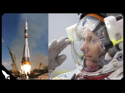 L' astronaute français Thomas Pesquet et Soyouz