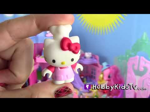 My Little Pony, Hello Kitty, Shopkins SURPRISES! Princess Disney, Blind Bags, Play-Doh HobbyKidsTV