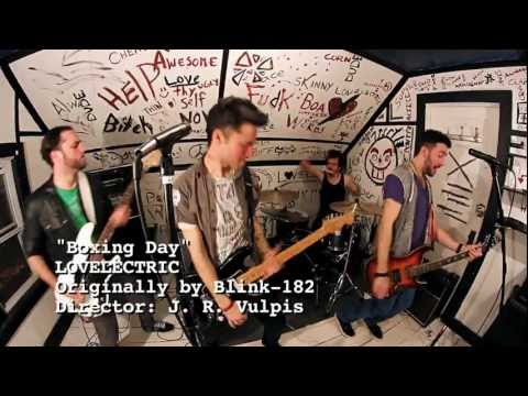 Boxing Day - Blink 182 COVER