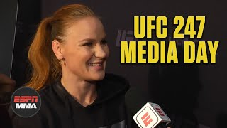 Valentina Shevchenko says Katlyn Chookagian will not be an easy fight | UFC 247 | ESPN MMA