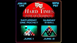 """Back To Hard Times!"" - 9-Ball / June 2nd, 2019"