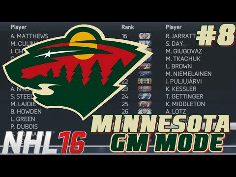 Draft - NHL Legacy - GM Mode Commentary - Minnesota ep. 8