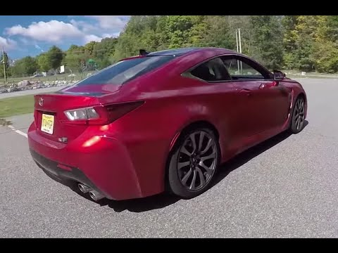 Lexus RCF Coupe - One Take