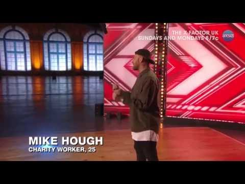 Mike Hough Puts His Own Spin on Ironic - The X Factor UK PREVIEW on AXS TV
