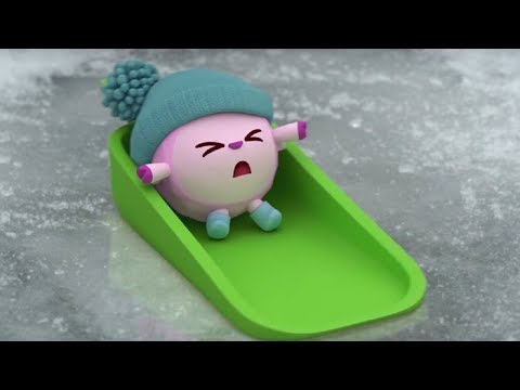 Малышарики - Снег ❄️ серия 113 - обучающие мультфильмы для малышей 0-4 - про зиму