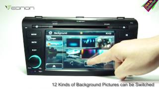 Eonon D5151 Mazda Car DVD GPS with ARM Processor & Dual Can Bus & NFC URC (Upgraded D5102)