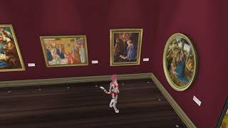 2017 12 15 VWT Second Life @ Adoration, The Nativity in Art, by Jake Vordun