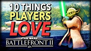 10 Things Star Wars Battlefront 2 Players LOVE