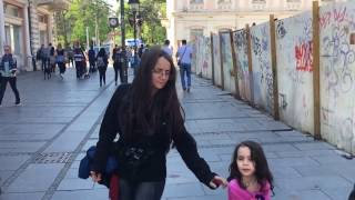 Walking in Belgrade