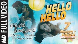 Hello Hello Full Video Song    Bhale Bhale Magadivoi    Nani, Lavanya Tripathi