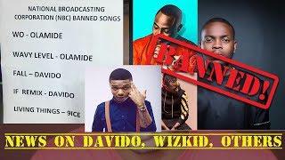Wizkid Blasts Federal Govt As NBC Bans Olamide's Wo, Davido's Fall & IF Remix