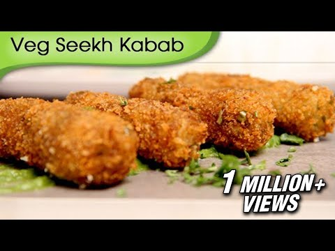 Veg Seekh Kabab - A Recipe by Ruchi Bharani [HD]
