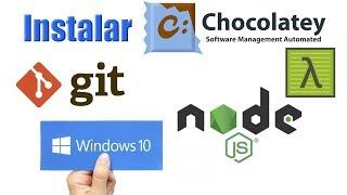 Que es y Como instalar Chocolatey en Windows 10