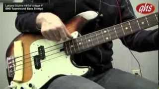 Can an Electric Bass Sound Like an Upright Bass? PART II