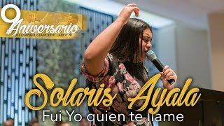 Solaris Ayala - Fui Yo quien te llame(9no Aniversario del Evang.Robert Laboy Jr)