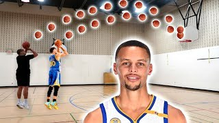 STEPH CURRY BASKETBALL CHALLENGE!!!