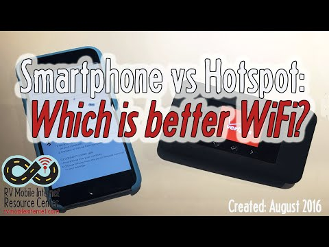Smartphone vs Mobile Hotspot: Which is Better for RV Cellular WiFi?