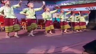 Garo Traditional Dance । Wangala Dance । গারো ঐতিহ্যবাহী নাচ । ওয়ানগালা । Wangala