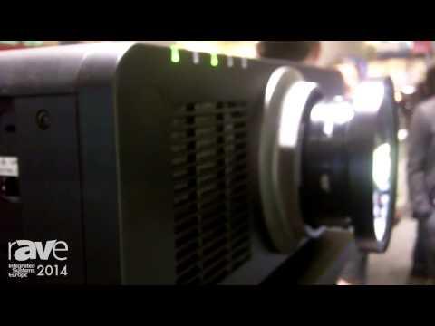 ISE 2014: Panasonic Presents 6,000 Lumen Laser Projector