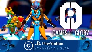 Games of Glory - PSX 2016 Gameplay Trailer