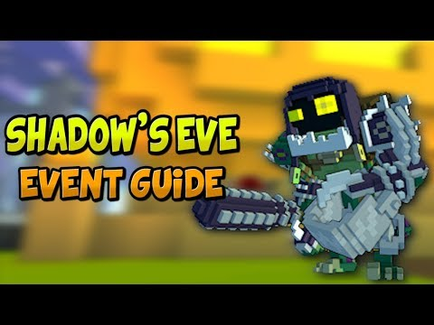 HOW TO COMPLETE THE SHADOW'S EVE 2017 EVENT! ✪ Trove Event Guide & Tutorial