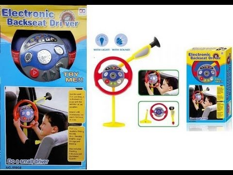 electronic backseat driver toy