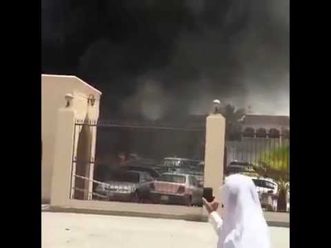 Car explosion outside Shiite mosque in Saudi Arabia's : Zajil Media Network