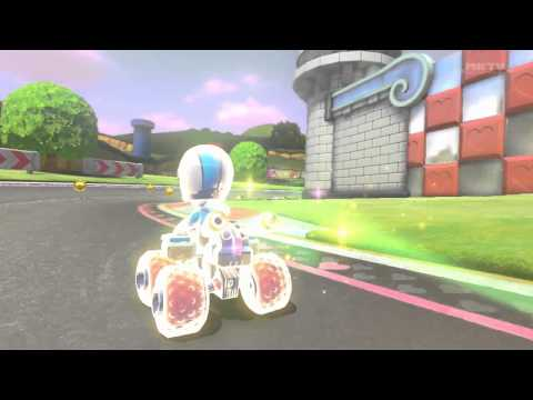 Mario Kart 8 - Jimmy fallon vs Mr Bean and Jim Carrey
