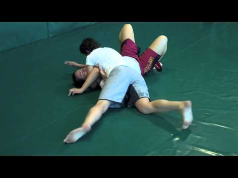 Guard Pass To Can Opener To Choke - BJJ / MMA Techniques Image 1