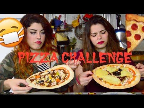 PIZZA CHALLENGE DISGUSTOSA | Double C Blog