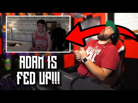 "CRYPT REACTS to Adam Calhoun ""Dennis Rodman"" (Official Music Video)"