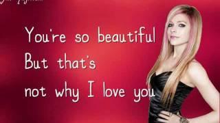 Avril Lavigne- I Love You Lyrics