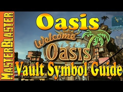 Borderlands 2 Oasis Cult Of The Vault Symbol Location Guide