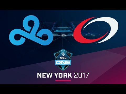 CS:GO - Cloud9 vs. compLexity [Inferno] Map 1 - Semifinal - ESL One New York 2017 NA Qualifier