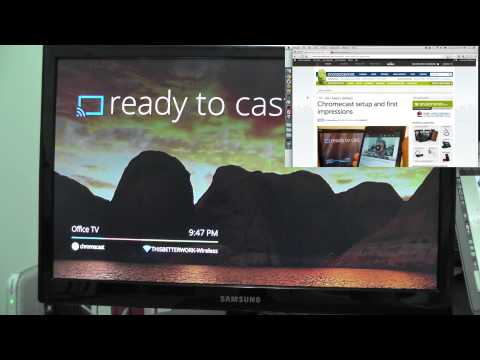 Using Chromecast on your computer