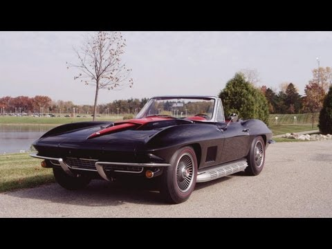 1967 Chevrolet 427 Corvette Roadster Restoration - CAR and DRIVER