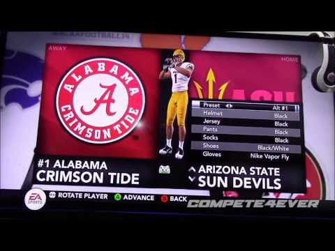 E3 NCAA 14 ALL TEAM UNIFORMS