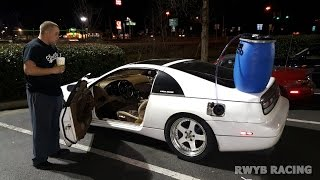 "Gnarly 5.3L Swapped Turbo 240SX vs ""Devil Z"" Twin Turbo Nissan 300ZX"