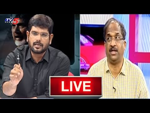 Prof K Nageshwar Special Live Show | Top Story With TV5 Murthy | TV5 News