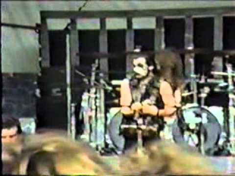 King Diamond- guitar solo and Mercyful Fate Medley-1990