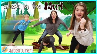 Stuck in the Mud Freeze Tag Game! I That YouTub3 Family The Adventurers