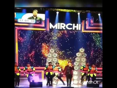 Armaan Malik performance on Mirchi Music Award